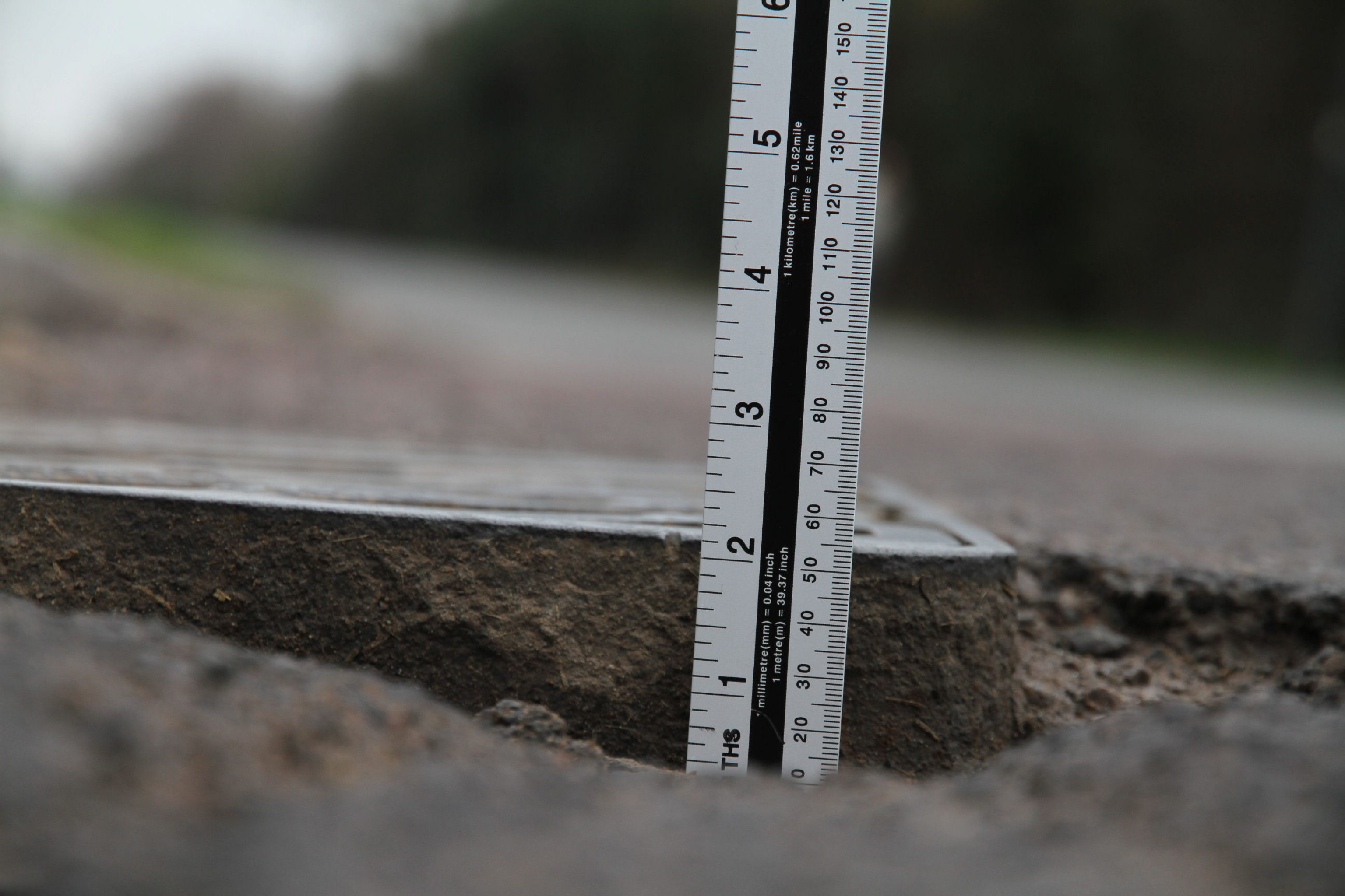 Road Defect measurement
